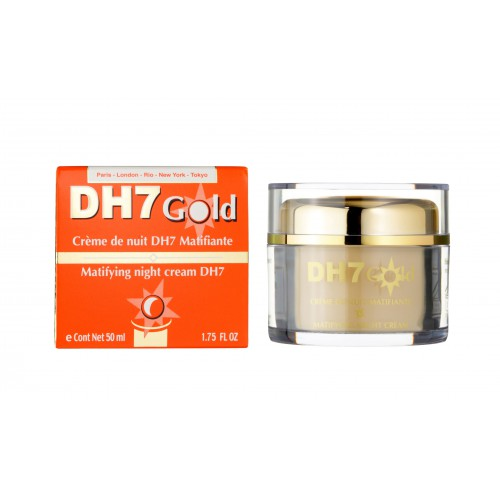 DH7 Gold Night Cream Mattifying