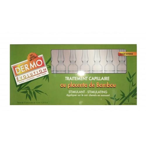 Traitement Capillaire Stimulant au Placenta de Bambou