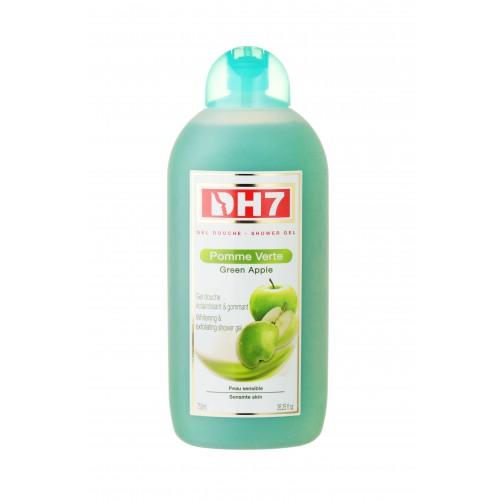 DH7 Gel Douche Gommant et Eclaircissant Pomme Verte 750ml