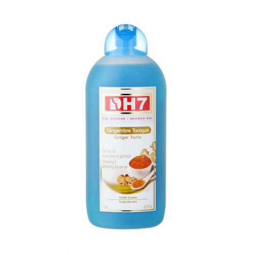 DH7 Shower Gel  Lightening and Exfoliating Tonic Ginger 750 ml