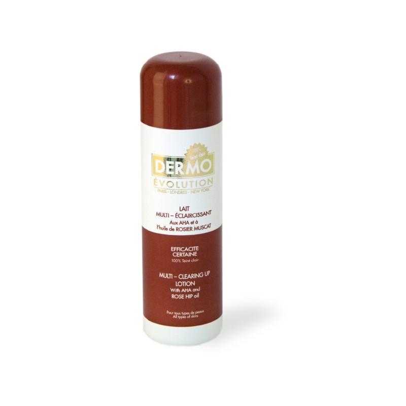 Lait marron éclaircissant à l'huile de Rosier Muscat