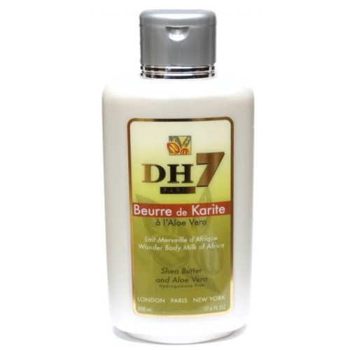DH7 Shea butter and Aloe Vera Body Milk 500 ml
