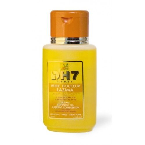 DH7 huile éclaircissante Lazima à la carotte 150ml