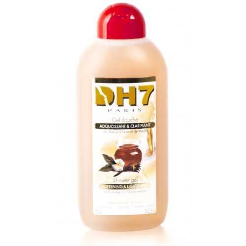 DH7 Shower Gel Clarifying and Softening with Vanilla and Honey 750 ml