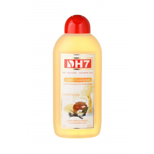 DH7 Shower Gel Softening with Vanilla and Honey 750 ml