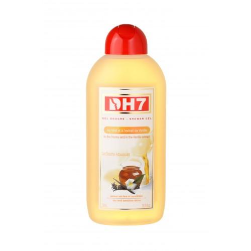 DH7 Gel douche Adoucissant aux Miel et à la Vanille 750ml