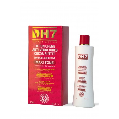 DH7 Maxitone Anti Stretch Mark Body Milk with Cocoa Butter 200g