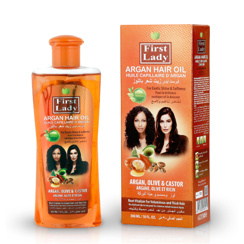 First Lady Huile capillaire d'Argan