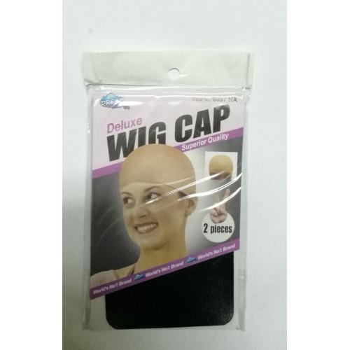 Bonnet perruque couleur noir
