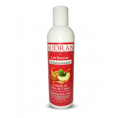 Audran Lightening Body Lotion with Cashew Nut Oil 500ml