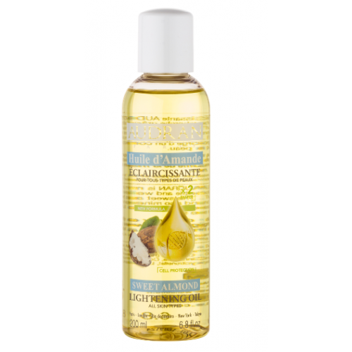 Audran Sweet Almond Lightening Body Oil 200ml
