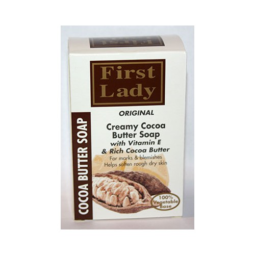 First Lady Creamy Cocoa Butter Soap