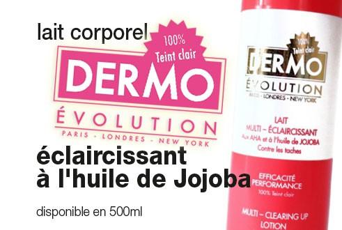Lait à l'huile de Jojoba DermoEvolution